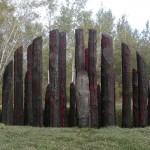 FREJ, timber, ø: 5 meter, Essarts, Quebec, Canada 2007