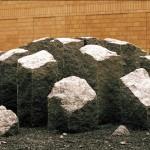 SKULLCAP, granite, ø: 6 meter, Sunderby Hospital 1999